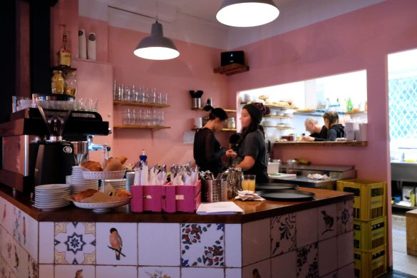 a never ending love story berlin Blick in die Küche