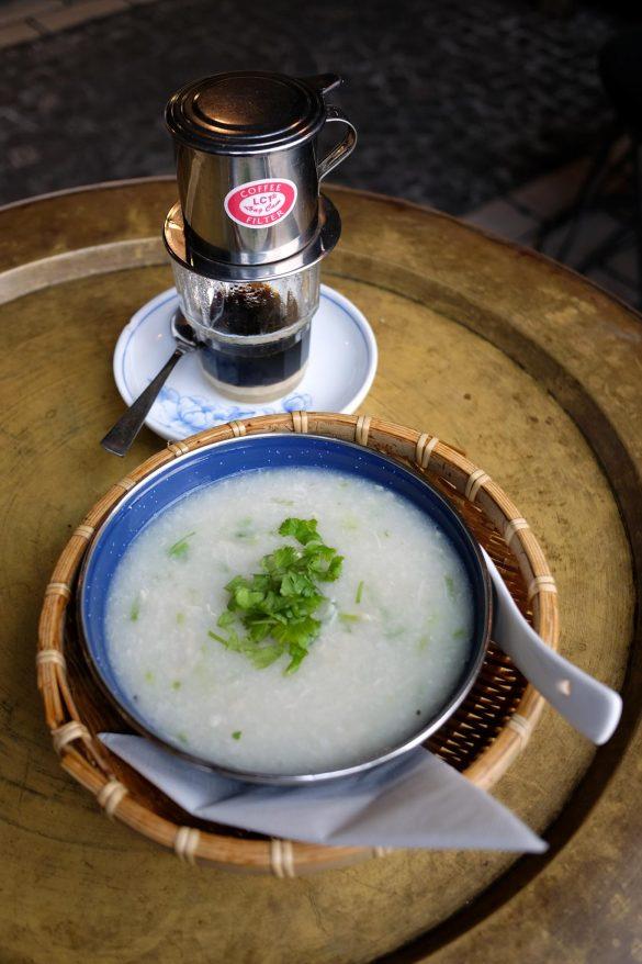 chao ga vietnamesisches reis porridge frühstück