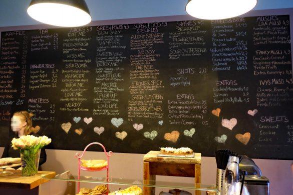 Speisekarte What do you fancy love in Charlottenburg Berlin
