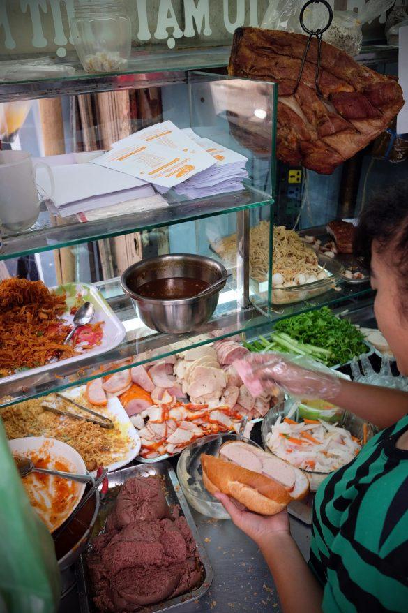 Bánh mì in Saigon