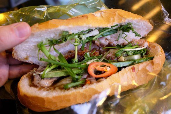 Bánh mì heo quay in Saigon