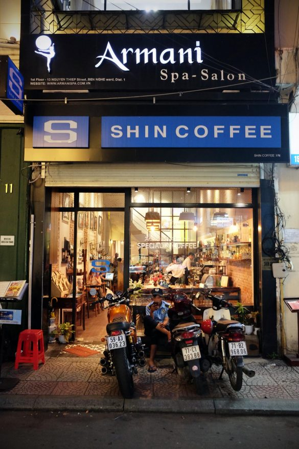 kaffee in vietnam saigon